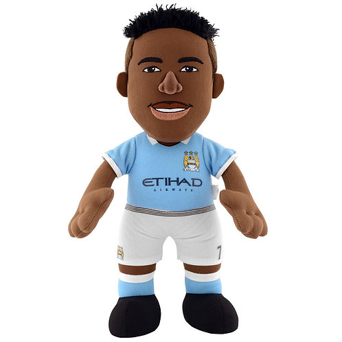 "Manchester City - Raheem Sterling 10"" Plush Figure"