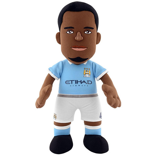 "Manchester City - Vincent Kompany 10"" Plush Figure"