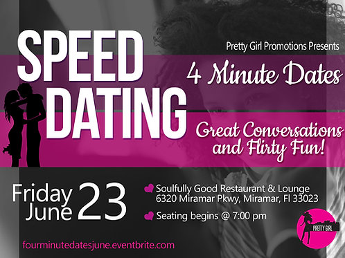 Speed Dating: 4 Minute Dating