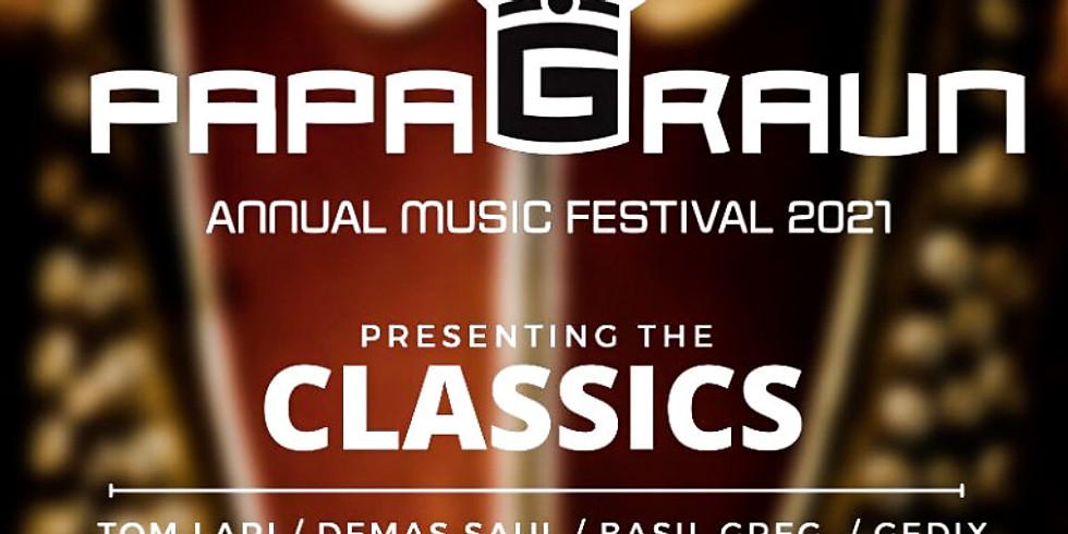 Papa Graun Annual Music Festival 2021
