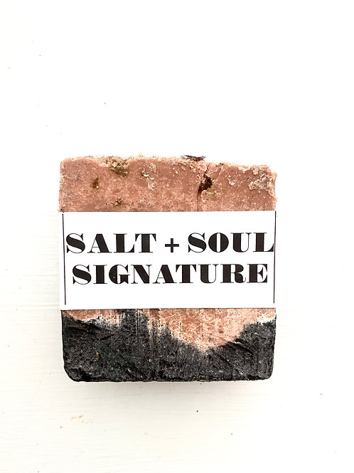 Salt + Soul Signature soap