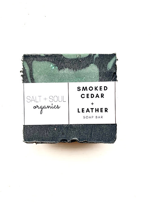 Smoked Cedar + Leather