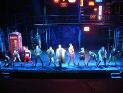 Cast of Taboo on Broadway
