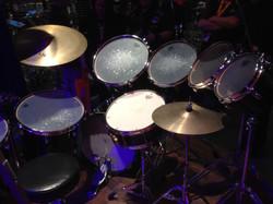 Phil Collins kit at NAMM