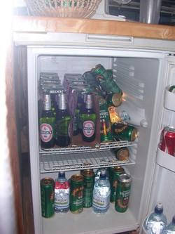 The Barclays bus fridge, normal?