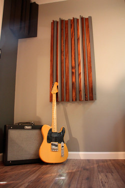 Guitar rig and second diffuser