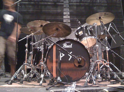 My touring setup in Europe