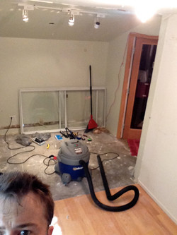Wall is down!