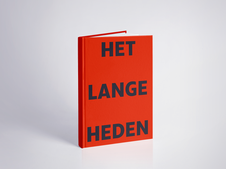 "30 Sept. Book launch ""Het Lange Heden"""