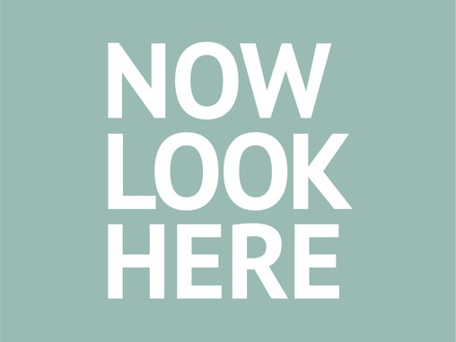 Announcing my new project: NOW LOOK HERE