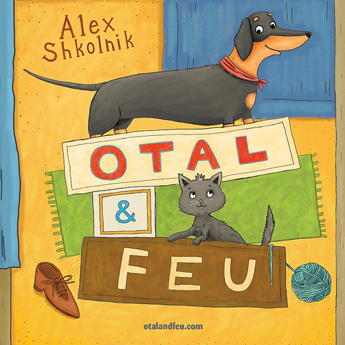 "Book ""Otal and Feu"" (in English)"