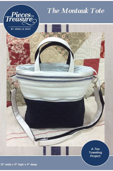 Downloadable Pattern - The Montauk Tote