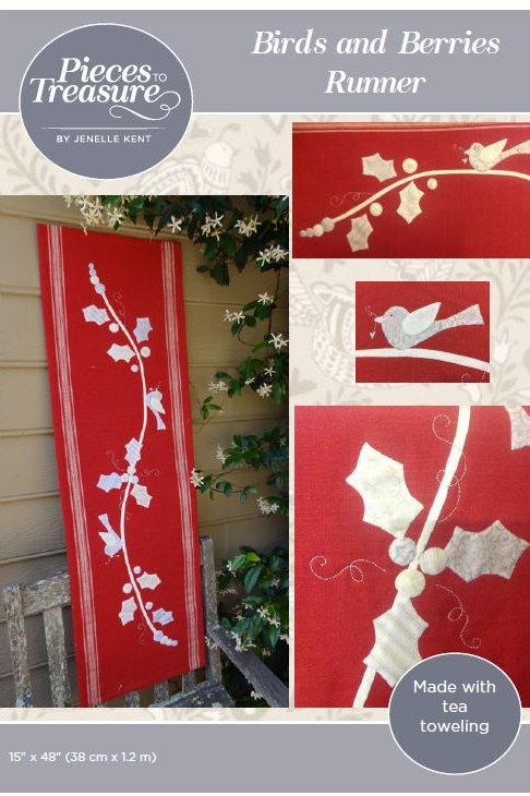 Pattern - Birds & Berries Runner PAPER