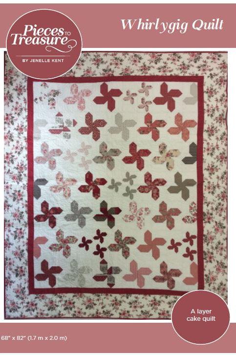 Pattern - Whirlygig Quilt PAPER