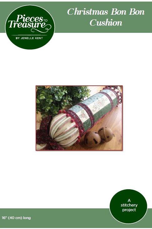Pattern - Christmas Bon Bon Cushion PAPER