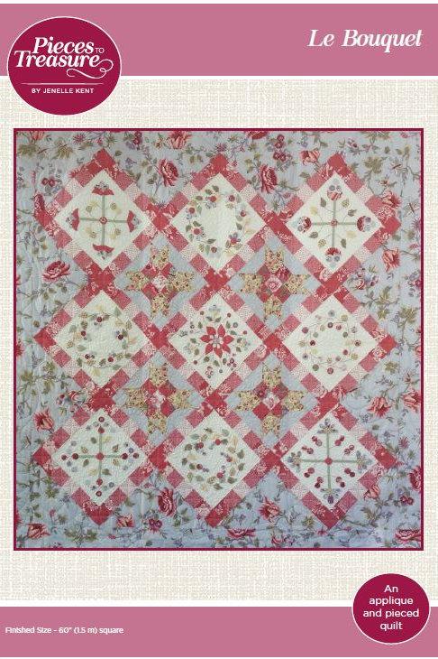 Pattern - Le Bouquet Quilt PAPER