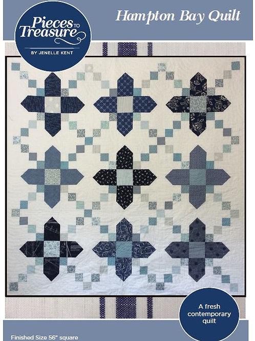 Pattern - Hampton Bay Quilt PAPER