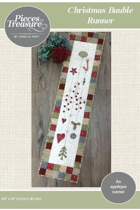 Pattern - Christmas Bauble Runner PAPER