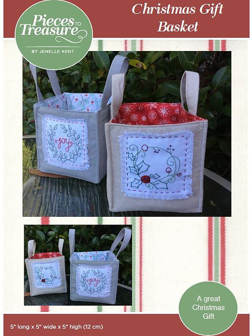 Pattern - Christmas Gift Basket PAPER