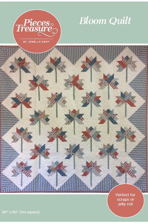 Pattern - Bloom Quilt PAPER