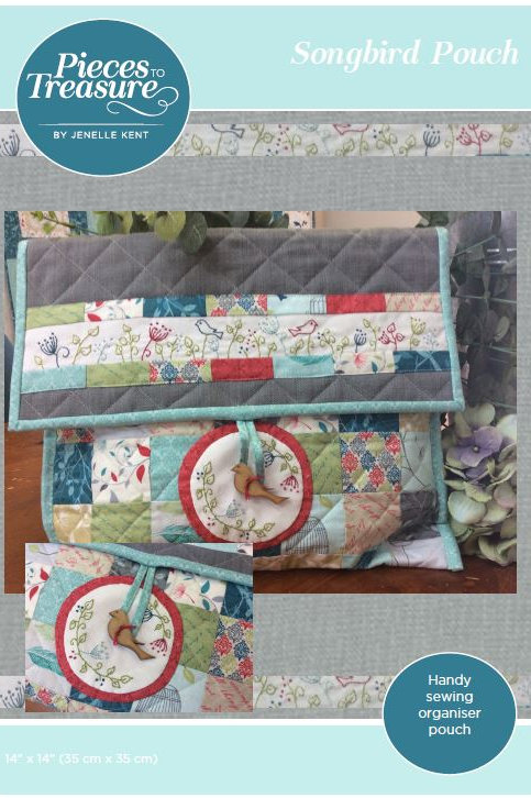 Pattern - Songbird Pouch PAPER
