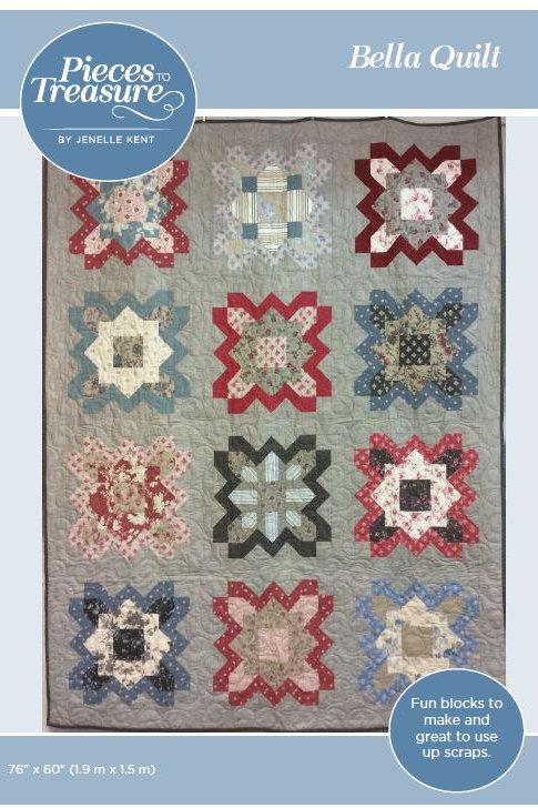 Pattern - Bella Quilt PAPER