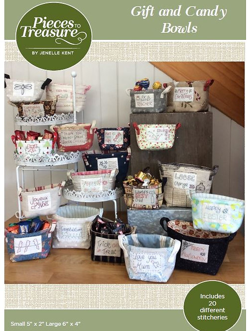 Pattern - Gift & Candy Bowls PAPER