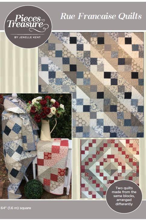 Pattern - Rue Francaise Quilt PAPER