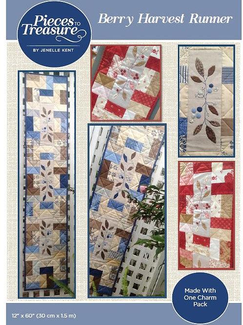 Pattern - Berry Harvest Runner PAPER
