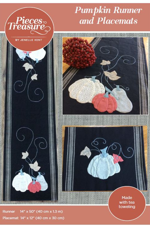 Pattern - Pumpkin Runner & Placemats PAPER