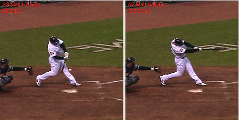 See the Ball Hit the Ball