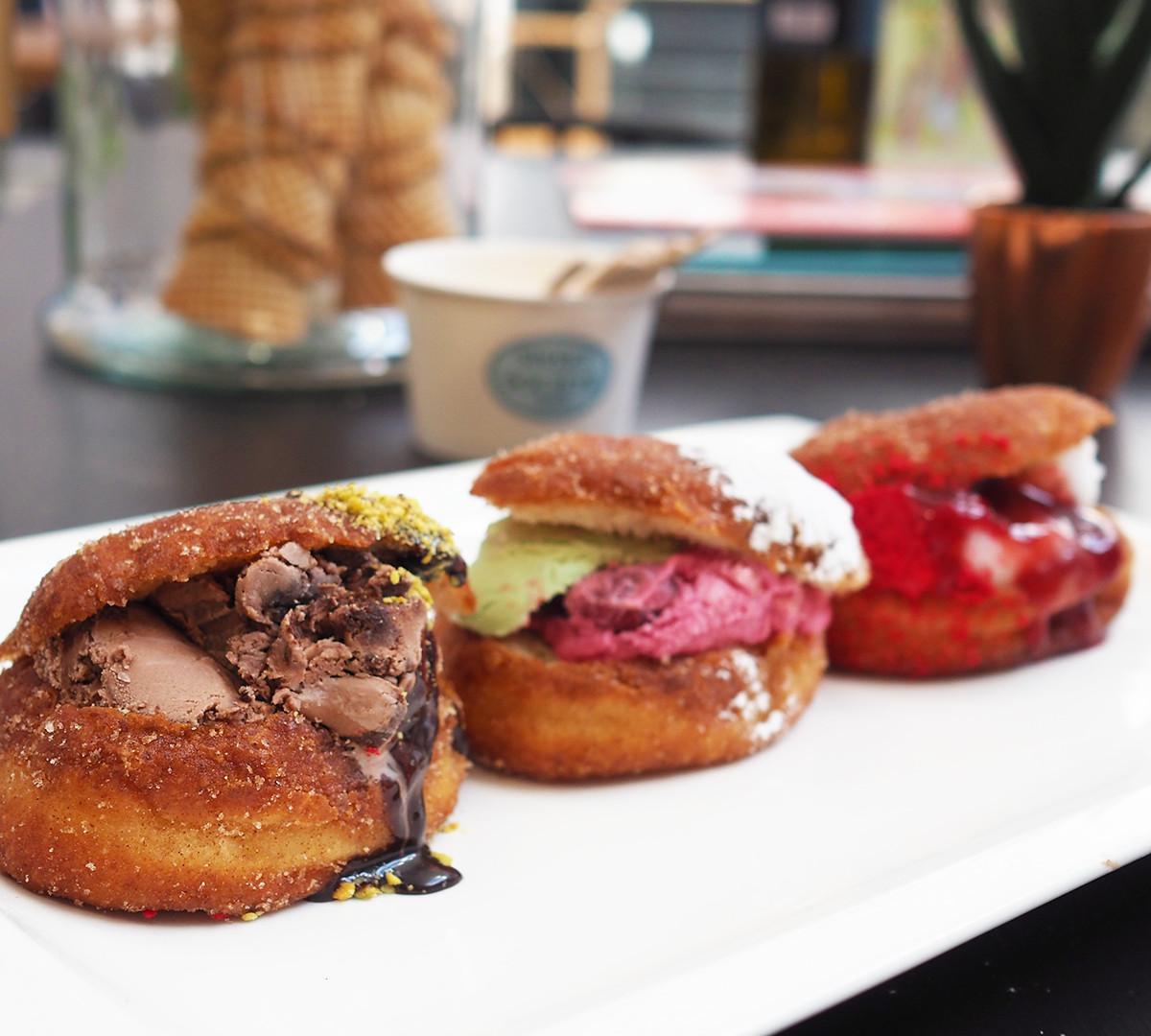 Gelato Donut