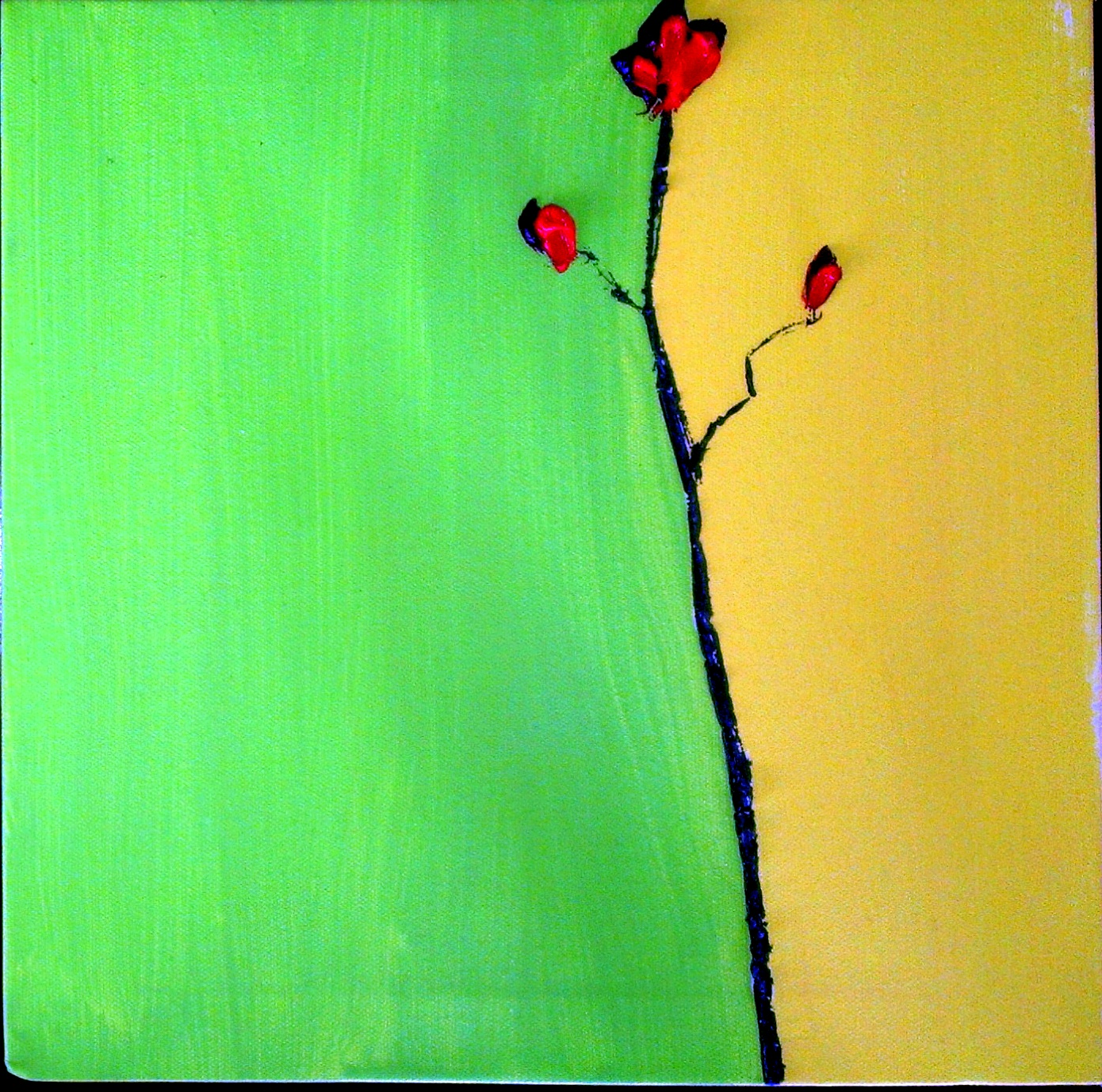 Red Flower 2  $50    SOLD