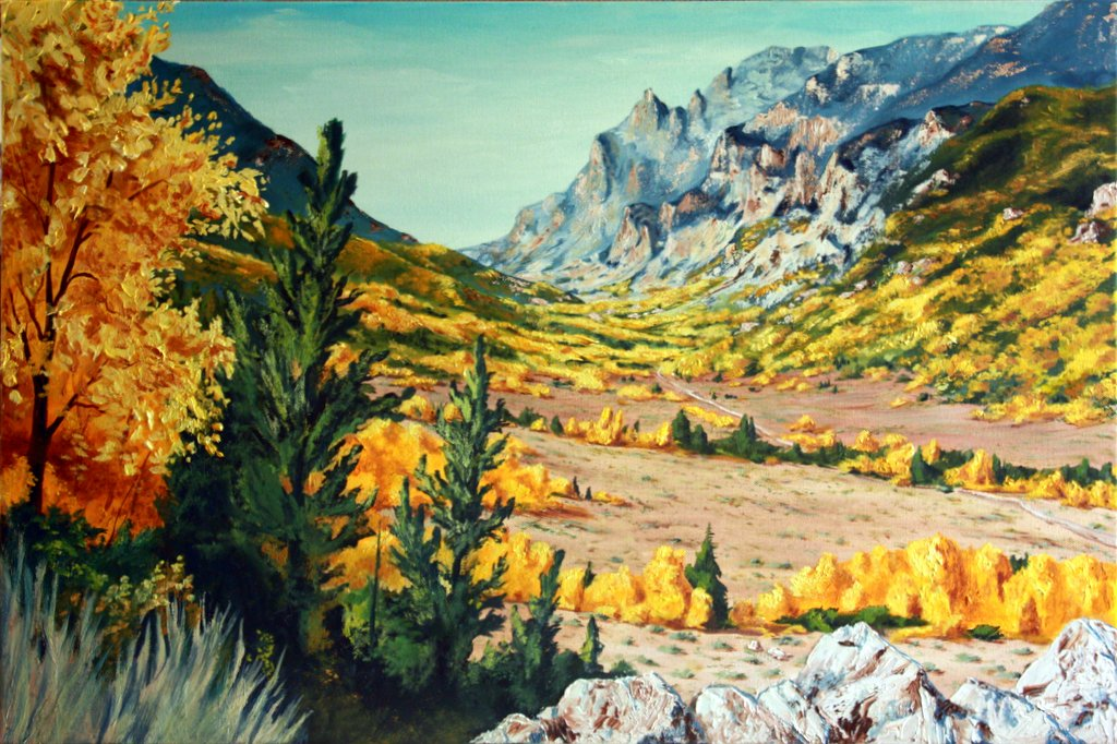 """Boyscout Canyon""   $400  SOLD"