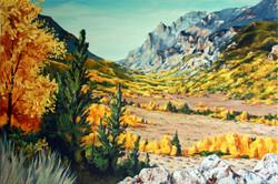 """""""Boyscout Canyon""""   $400  SOLD"""