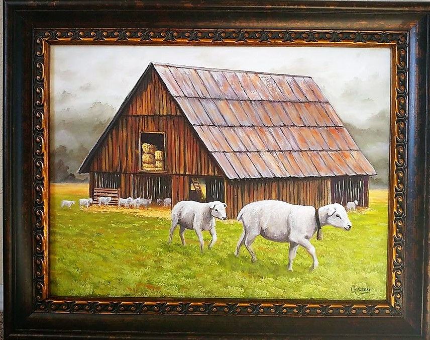 Oregon Sheep Barn