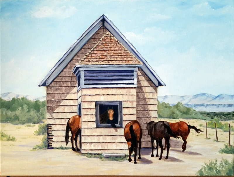 Jiggs School House Horses