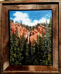 """""""Colorado Waterfall"""""""