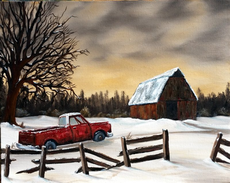 """Winter Truck"""