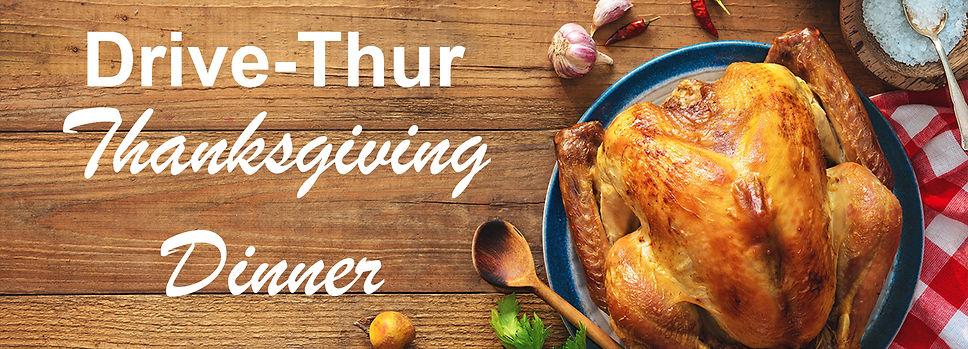 Drive-Thru Thanksgiving Dinner (Banner).