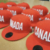 Check out these awesome Team Canada hats