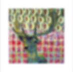 malerei hirsch gauting starnberg muenchen siebdruck kunst