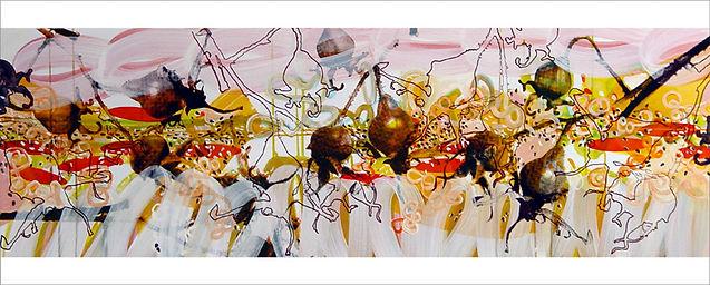 malerei druck gauting starnberg muenchen siebdruck floral