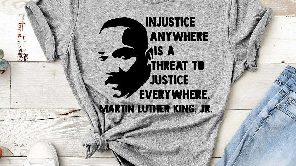 MLK Shirt Dr Martin Luther King Jr  T-Shirt