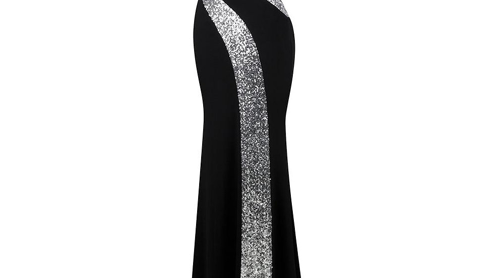 Long Prom Dress Angel-fashions Women's Strapless Criss-Cross Classic