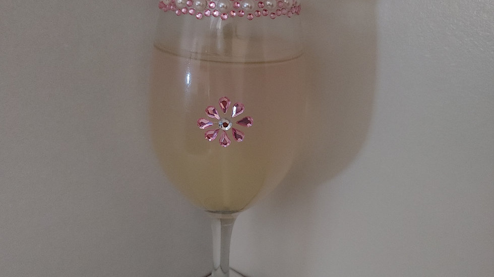 Rose scented Gel candle