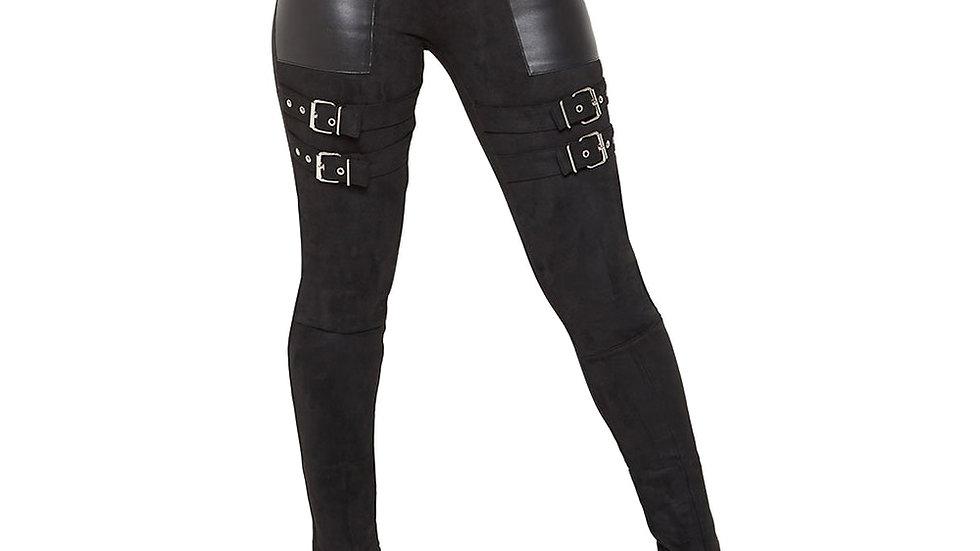 PU Leather High waist paints
