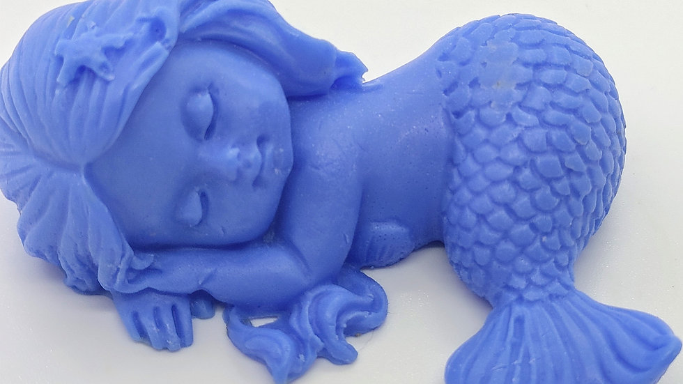 Sleeping Baby Mermaid 2 Decorative Soap