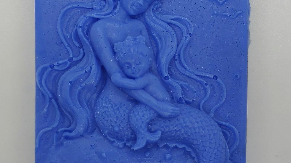 Mermaid and Baby Decorative Soap