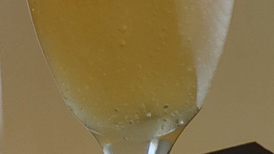 Champagne Glass Candles